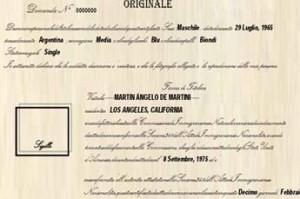 USA Citizenship Italian